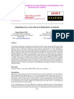 Performance Analysis of Supercritical Boiler