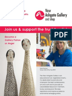 Join us & support the trust & artists