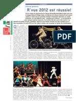 La R'vue 2012 - Extrait de presse - Tout l'Immobilier - 3 décembre 2012