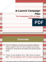 Book Launch Campaign Plan