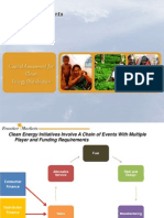 Capital assessment for clean energy distribution