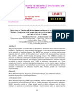Selection of Optimum Parameters to Develop an Aluminium Metal Matrix Composite With Respect to Mechanical Properties by Using Grey Relational Analysis