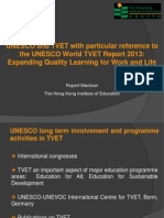 Rupert Maclean - UNESCO World TVET Report 2013