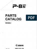 Canon LBP-8iv Parts Manual