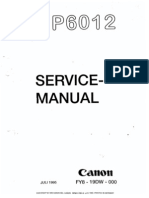 Canon NP 6012 Service Manual