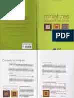 Miniatures Au Point de Croix