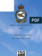 4 (Ardmore) Squadron ATC Final Parade Report