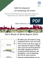 Akiko Sakamoto - Skills Development in Time of Continuing Job Crisis