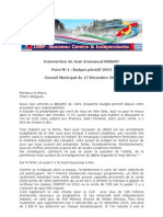 Intervention Jean-Emmanuel Robert sur le budget