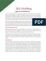 Steps in SKU Profiling