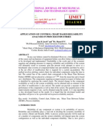Application of Control Chart Based Reliability Analysis in Process Industries