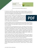 Análisis de la aplicación de unidad didáctica
