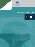Euro money market study 2012 - ECB