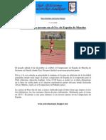 16. Paco Navarro noveno en el Cto. de España