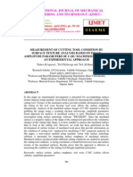 MEASUREMENT OF CUTTING TOOL CONDITION BY SURFACE TEXTURE ANALYSIS BASED ON IMAGE AMPLITUDE PARAMETERS OF C-SIC MACHINED SURFACE – AN EXPERIMENTAL APPROACH