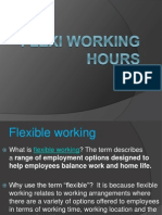Flexi Working Hours