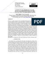 Investigations on Oxy-hydrogen Gas and Producer Gas, As Alternative Fuels, On the Performance of Twin Cylinder Diesel Engine