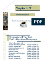 Operations Management, Compelte Slides,Supply chain Management
