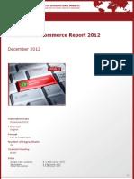 Brochure & Order Form_Brazil B2C E-Commerce Report 2012_by yStats.com