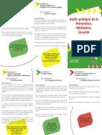 Guide pratique de la Prévention, Médiation, Sécurité