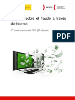 Estudio sobre el fraude a través de Internet, novena oleada (1er cuatrimestre de 2012)