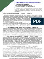 12 DIAS DE CAMPANHA E CLAMOR PARA 12 MESES DE BÊNÇÃOS Vespertino
