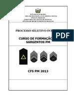 Edital Cfs 2013 Pmpb