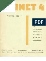 Carnet 4 - Avril 1931, par Carlo Suarès