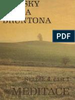 Zápisky Paula Bruntona - Meditace