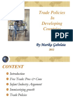 trade policies in developing countries
