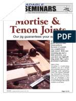 WoodPlans Online - Mortise & Tenon Joints