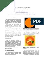 Origine et déroulement du cycle solaire