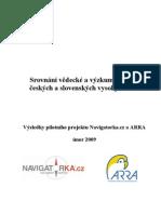 Navigatorka.cz - Vědecká a zýzkumná práce VŠ