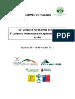 62 Congreso agronomico chile