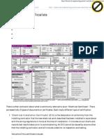 Electrical Certificates _ EEP
