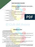 Novedades introducidas en el IRPF e IVA, Reglamento de facturación y Obligaciones de información