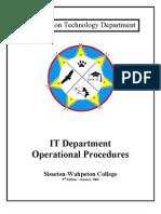 IT Oper Procedure 3rd Edition