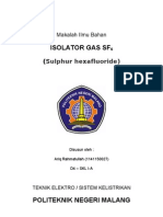 Isolator Gas (SF6)