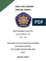 Minyak Trafo