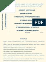 OPTIMIZARI METODE NUMERICE IN INGINERIE
