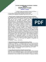 Informe Uruguay 41-2012