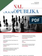 JURNAL SOSIOPUBLIKA