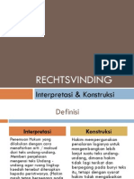 Penemuan Hukum (Rechtsvinding)