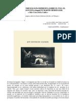 APUNTE DE FENOMENOLOGÍA DEPRESIVA SOBRE EL UNO, EL DASEIN Y LA  ANGUSTIA (Angst) en MARTÍN HEIDEGGER