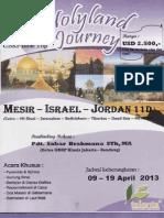 Holyland Journey - Perjalanan Ke Tanah Suci