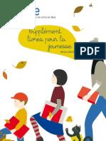 supplement livres pour la jeunesse 2012 - 2013