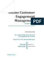 Online Customer Engagement Management