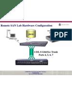 Remote SAN Lab Hardware