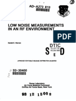 Low Noise Measurements In An RF Environment by Daniel E. Warren, Rome Laboratory, 08-1993.