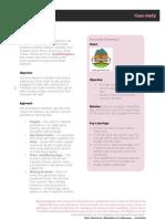 Social Media Case Study - Gumtree, Sweepstake App